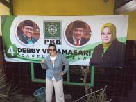 Posko Relawan RiforRi untuk caleg Debby Ve :D