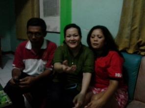 Ibu & Bpk Rai, tetangga kantor DPC PKB Kota Tasikmalaya